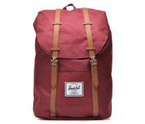 Retreat Rucksäcke für Taschen in weinrot