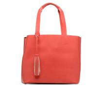 Illu Shopper Handtasche in rot