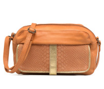 Isabella Leather Crossbody Handtasche in braun