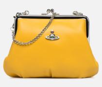 Frame Purse Handtasche in gelb