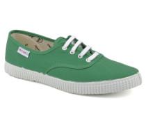 W Sneaker in grün