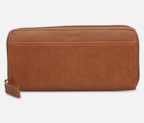 Vivien wallet zip around in braun