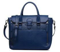 Sofia croco Handtasche in blau