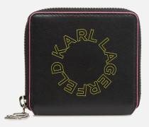 kinneon small wallet in schwarz
