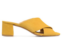 UrbAfrican Mules #4 Clogs & Pantoletten in gelb