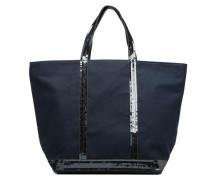Cabas M+ Handtasche in blau