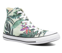 Chuck Taylor All Star Hi Tropical Print W Sneaker in mehrfarbig