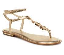 Bella Tongue Sandalen in goldinbronze