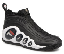 Bubbles zip Sneaker in schwarz