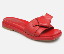 BW0101P Clogs & Pantoletten in rot
