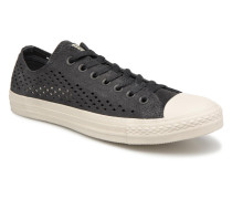 Chuck Taylor All Star Perf Suede Ox Sneaker in schwarz