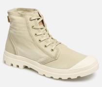Pampa Hi Denim Sneaker in beige