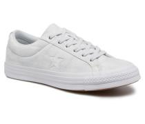 One Star Peached Wash Ox W Sneaker in blau