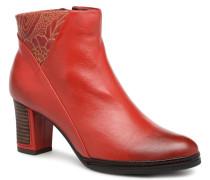 ANGELA 12 Stiefeletten & Boots in rot