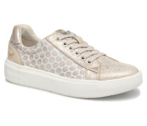 1268301in243 Ivory Sneaker in goldinbronze