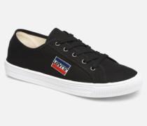 Levi's Malibu Sportswear Sneaker in schwarz