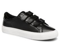 Arcade Straps Nappa Sneaker in schwarz