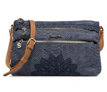 AQUILES DURBAN Handtasche in blau