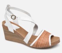 Spagnol Sandalen in weiß