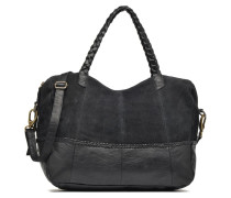 Cameo Leather bag Handtasche in schwarz