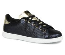 Deportivo Lentejuelas Sneaker in blau