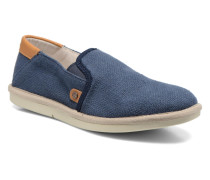 City Shuffler Fabric Plai Sneaker in blau