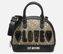 NEW FUN JACQUARD Handtasche in goldinbronze
