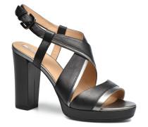 D MAUVELLE D724LD Sandalen in schwarz