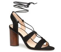 Brune Sandalen in schwarz