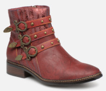 ERWIN 03 Stiefeletten & Boots in rot