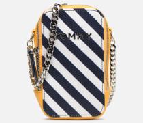 TH IDOL MINI CROSSOVER Handtasche in blau