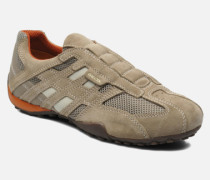 U SNAKE L U4207L Sneaker in beige