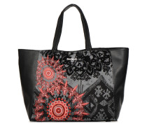 RED QUEEN CUENCA Handtasche in schwarz