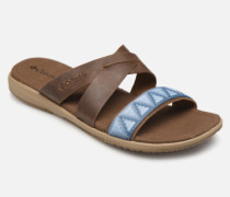 Solana™ Slide Clogs & Pantoletten in braun