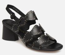 BW0603P Sandalen in schwarz