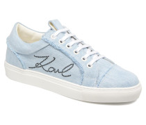 Denim Sneaker in blau