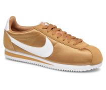 Wmns Classic Cortez Nylon Sneaker in goldinbronze