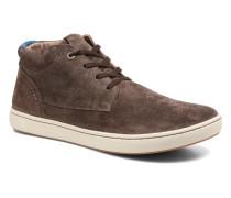 Bandon Cuir Suede Sneaker in braun