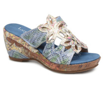 Beaute 16 Clogs & Pantoletten in blau