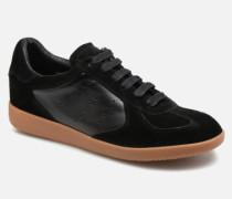 Li Lace up Sneaker in schwarz