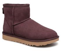 W Classic Mini II Stiefeletten & Boots in weinrot
