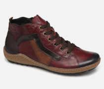 Glam Sneaker in weinrot