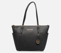JET SET ITEM EW TZ Tote Handtasche in schwarz