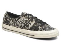 Chuck Taylor All Star Gemma Ox Sneaker in schwarz