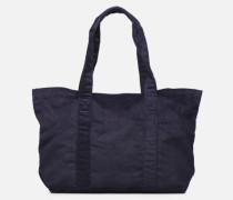CORDUROY TOTE Handtasche in blau