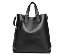 CABAS NUNA Handtasche in schwarz