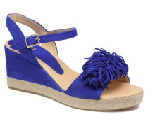 NYMPHES Espadrilles in blau