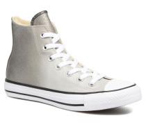Chuck Taylor All Star Ombre Metallic Hi W Sneaker in grau
