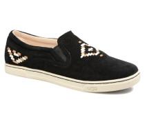 Fierce Rustic Weave Sneaker in schwarz