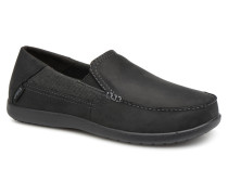 Santa Cruz 2 Luxe Leather M Slipper in schwarz